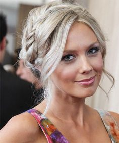 Melissa Ordway Updo Hairstyle - Long Curly Casual. Click to try on this hairstyle and view hair info!