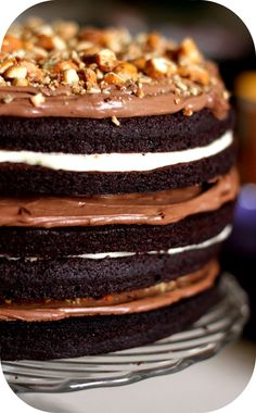 Big One Layer Cake… Love it !