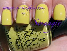 OPI - Fiercely Fiona, used for one full manicure and one accent nail manicure, $2.25