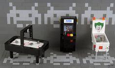 Got A Quarter? — BrickNerd - Your place for all things LEGO and the LEGO fan community Lego Creationary, Lego Games, Legos, Lego Batman, Lego Furniture, Minecraft Furniture, Micro Lego, Lego Store, Lego Mecha