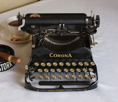 1912 Corona Portable Folding Typewriter #3