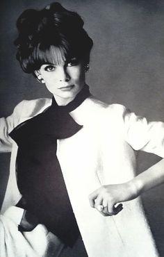 Jean Shrimpton in Vogue UK October 1963 by Bailey