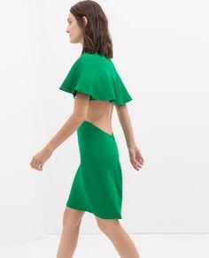 Zara cape dress. WANT