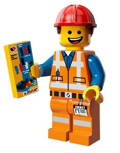 The Lego Movie: Emmet Brickowski :)