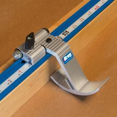 Add repeatable accuracy to your miter saw, band saw, table saw fence, router table, and more with this versatile Swing Stop.