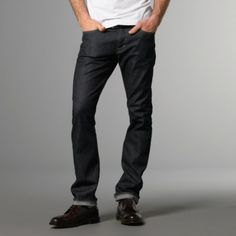 According to GQ Fashion, every man should own a pair of black jeans ... Thankfully, J.Hilburn has got you covered with discounted AG Adriano Goldschmied Protégé jeans in Roscoe.