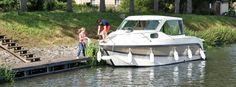 Bateaux sans permis en location pour le tourisme fluvial