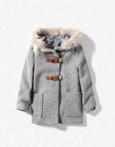 Three quarter coat, Zara