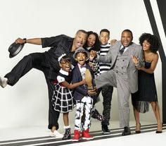 Huge fans of 'black-ish.' Beloved faces like Golden Globe winner Tracee Ellis Ross, as well as Anthony Anderson, Laurence Fishburne, and Hamilton's Daveed Diggs round out a cast that could easily live next door.