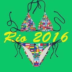 Rio Olympics start in Just 2 days!Represent your country with a custom bathing suit ! #Rio2016#custom#anymatic#kinimatic