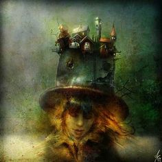 Alexander Jansson, whimsical and dark art with an imagination that has no limits !