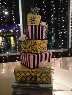 Our Fabulous Wedding Cake!!