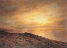 Отара на берегу моря. Ай-Тодор . 1870 - Боголюбов Алексей Петрович
