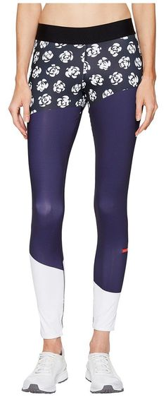 adidas by Stella McCartney Run Climalite Long Tights Printed S99235 (Black/Noble Ink/White) Women's Workout - adidas by Stella McCartney, Run Climalite Long Tights Printed S99235, S99235-001, Apparel Bottom Workout, Workout, Bottom, Apparel, Clothes Clothing, Gift - Outfit Ideas And Street Style 2017