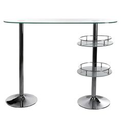 Stylish, Modern & Contemporary Bar Tables at affordable prices; Stylish Sauce. GLASS MODERN KOKOON WHISKY BAR TABLE BT00010CL