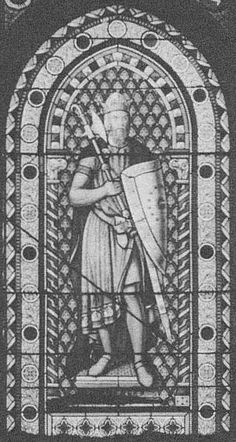Somerled II Mac Gillebride, King of the Isles - 20th Paternal Great Grandfather.  Somerled was a Norse-Gaelic warlord and husband of Ragnhild, daughter of Olaf Godredsson.