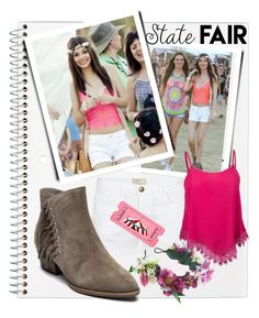 """""""2016  State Fair"""" by queenofsienna ❤ liked on Polyvore featuring Current/Elliott, Ash, Rock 'N Rose, statefair and summerdate"""