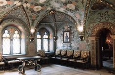 Terem Palace, Moscow, Russia | Inside Moscow Kremlin walls,Terem Palace, Room of the Cross,