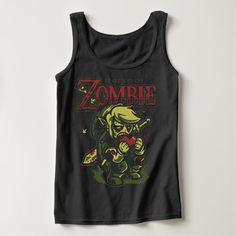 Legend Of Zombie Halloween Custom Tanktops