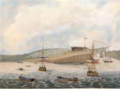 Oswego 1814 British storm Fort Ontario