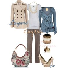Layers, created by jenniemitchell.polyvore.com