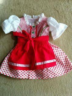 Baby-Dirndl Gr 68 in Jülich - Babykleidung/ -schuhe kaufen und verkaufen über private Kleinanzeigen