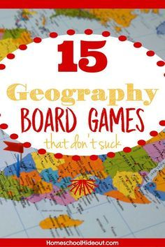 Need to brush up on your geography skills? We've got the top 15 geography board games that make learning locations, capitals and more a breeze! World Geography Games, Geography Lesson Plans, Geography Activities, Geography For Kids, Geography Map, Geography Quotes, Geography Revision, Human Geography, Geography Worksheets
