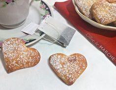 Cuori morbidi di brioches, San Valentino - ricetta