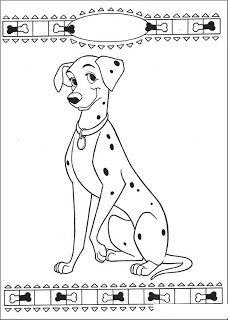 Dibujos Para Colorear 101 Dalmatas Paginas Para Colorear Disney Dalmata Paginas Para Colorear