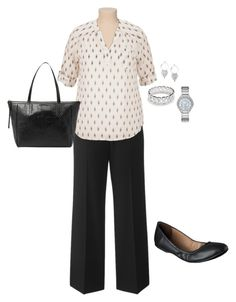 """""""Plus Size Career Outfit"""" by jmc6115 on Polyvore"""