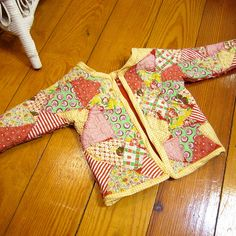 Upcycle old sweatshirt and fabric scraps! Directions for baby....but can be done for any size!