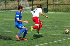 Team America 96 (2014 OBGC Capital Cup, U18/U19 Premiere - Semi-final) vs BRYC Elite (August 31, 2014) -- Brian Barbu #17 (TAFC96 Soccer)
