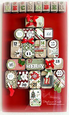 20 DIY Advent Calendar