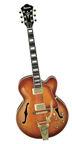 Ibanez Artcore Expressionist AF95 Hollowbody with Bigsby Style Tremelo Electric Guitar Violin Sunburst