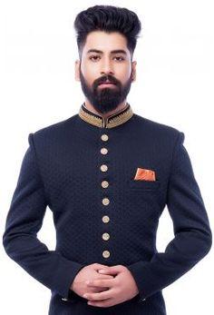 Latest Sherwani Designs | Jodhpuri Sherwani | Blue Sherwani |Samyakk |