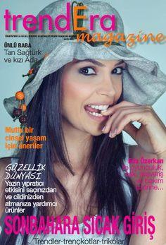 Eda Özerkan - Trendera Magazine Cover [Turkey] (September 2013)