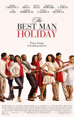 """At a fifteen year reunion over the Christmas holidays, a group of college friends soon discover how simple it is for old rivalries and romances to resurface."" Find THE BEST MAN HOLIDAY in our catalog: http://highlandpark.bibliocommons.com/item/show/2320747035_the_best_man_holiday"