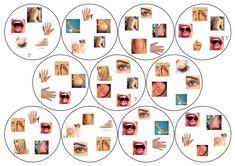 Dobble – Spelen en Leren Body Parts, Things To Do, Photo Wall, Kids, School, Frame, Home Decor, Speech Language Therapy, English Vocabulary