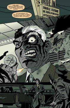 Two-Face in Batman: Ego - Darwyn Cooke