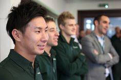 The 2014 grid is complete, with Caterham's driver announcement // Bitesize Formula One news Kamui Kobayashi, Marcus Ericsson, Formula One, Lineup, F1, Change