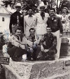 Ernest Tubb Wife | , Ernest Tubb, Glenn Douglas Tubb, Wilburn Brothers y Justin Tubb ...