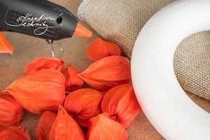 Věnec z mochyně: DIY podzimní dekorace na dveře   Kreativní Techniky