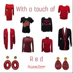 Mix & Match on saturday @deleukedingen We are open today from 11.00 untill 17.00 and 24/7 online! #weekend #shopping #shoppingtime #mixandmatch #fashion #fashionblogger #musthaves #redcollar #earrings #clothes #trends #deleukedingen