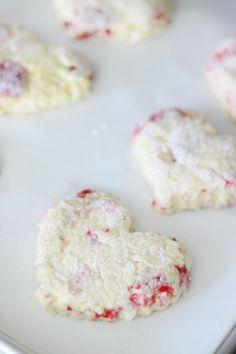 Sweetheart Raspberry Scones Recipe | Gluesticks