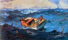 Winslow Homer   The Gulf Stream  1906