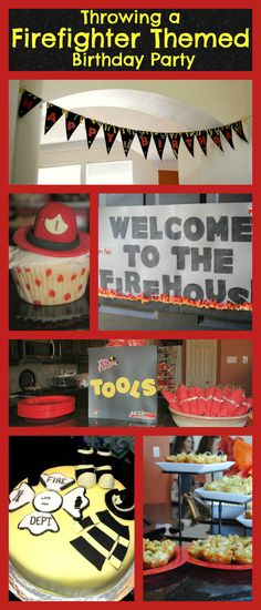 Throwing a Firefighter Themed Birthday Party