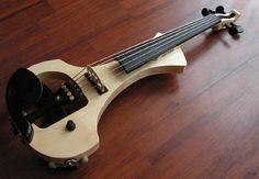 Handmade electric violins, violas and cellos