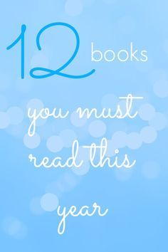 12 books you must read this year