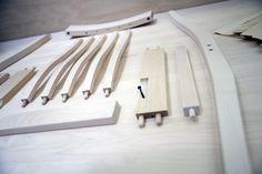 TEHDÄÄN HYVIN | HANDMADE QUALITY Työvaihe: Ruokatuolin valmistus | Craft: Dining chair components Tuotantolinja: Pöydät | Production line: Dining  #pohjanmaan #pohjanmaankaluste #käsintehty