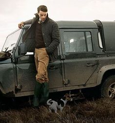 Hunter Barbour LandRover Aga : Photo